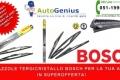 BOSCH: SPAZZOLE TERGICRISTALLO DI QUALITA' PER LA TUA AUTO IN SUPEROFFERTA DA AUTOGENIUS!